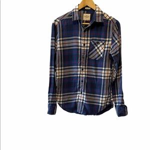 AMERICAN EAGLE Seriously Soft Classic Fit Plaid XS